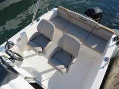 Quicksilver Activ 455 Cabin + 15 PS LAGERBOOT 1