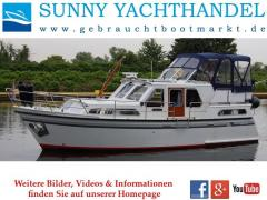 Aquanaut 1000 Beauty 100 PS Bug-Heckstrahl Motoryacht