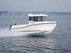 Quicksilver 555 Pilothouse MESSEBOOT Fischerboot