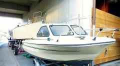 Beekmann Hardtop Fischerboot + 8PS AB Pilothouse Boat