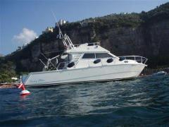 Raffaelli Big Game Flybridge Yacht