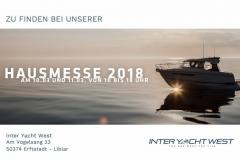 <b>Parker 850 Voyager by Inter Yacht West</b><br/>HAUSMESSE 2018 by Inter Yacht West