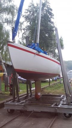 Luthi Flying Forty Kielboot