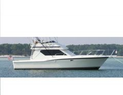 Hatteras 38 convertible fisherman Flybridge Yacht
