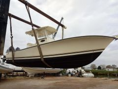 AL Custom 25 center consolle Fischerboot