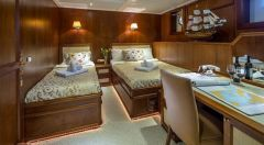 Aegean Yachts Full Displacement Twin Screw Motor Vesse