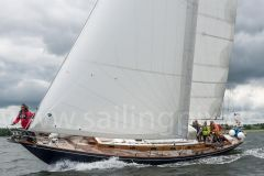 Sparkman and Stephens Classic Sailing Yacht Klassiker
