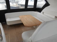 Aft Cockpit Seating with Table