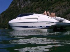 Performance 707 bimotore Ponton-Boot