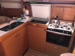 Galley and Fridge
