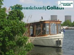 Authentieke Salonboot Klassiek Motor Yacht