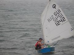 Optimist Sailing dinghy