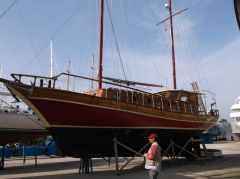 Holzboot/ Goulet