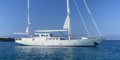 Cantiere M Craglientto Twin Screw Oceangoing Sailing Yacht Ketch