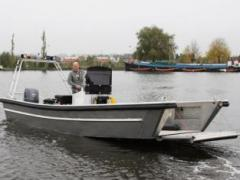 Arbeitsboot Bugklappenboote Runabout