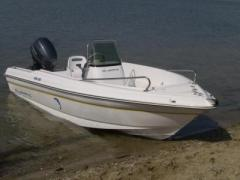 Olympic 450 CC mit Evinrude 40 Sportboot