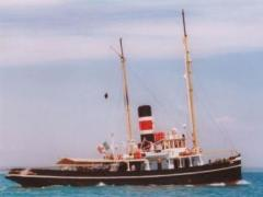Rennolson and Son Steam tug schooner 189 Mega Yacht