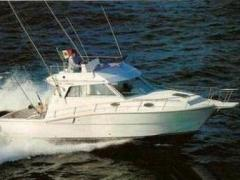 Ferretti 34 Fish Flybridge Yacht