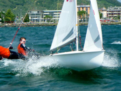 Mackay 470er Sailing dinghy