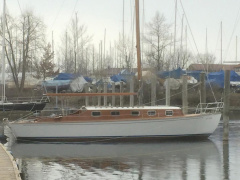 Bodensee Oldtimer-Yacht