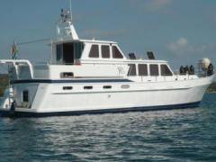 Veha Steel Displacement Motorcruiser 16 M Yacht a Motore