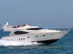 Cayman 62 Cyber Fly Flybridge Yacht