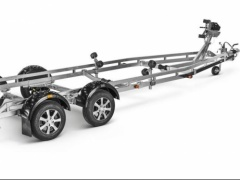 Brenderup Premium X-LINE 263500TB SRX twin axle with wide track