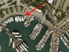 Berth Port Vauban Entibes Ponton fixe / amarrages