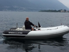 Williams Turbojet 460 / Hafenplatz Locarno Gommone a scafo rigido