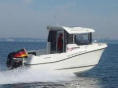 Quicksilver 555 Pilothouse + 60 PS Kabinenboot
