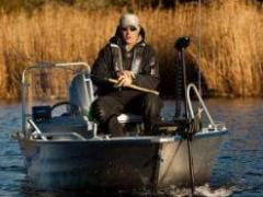 Linder 445 Sportsman Basic mit 10 PS Alu-Boot
