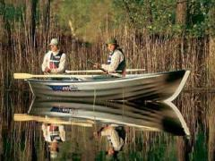 Linder 410 Fishing mit 2,5 PS Arbeitsboot
