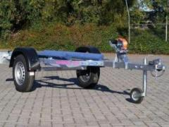 Jet Loader Small Trailer Trailer Enaxlad