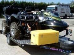 JET LOADER Jet Atv Trailer Eenassig