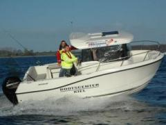 Quicksilver Captur 605 Pilothouse 100 PS Trailer Pilotina