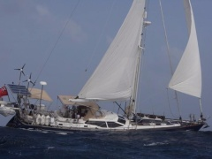 Oyster 56 Into The Blue Yacht a Vela