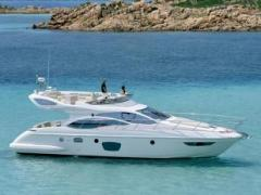Azimut 47 Fly (2007) CAT C96L Mwst. bez. Flybridge Yacht