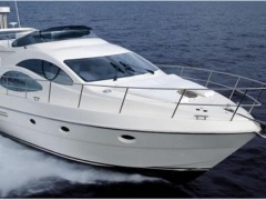 Azimut 42 Fly (2003) 2 x CAT aus 1 Hand Flybridge Yacht