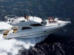 Cranchi 40 Atlantique Fly (2004) aus 1 Hand! Flybridge Yacht