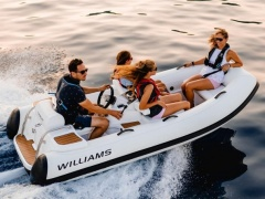 Williams 325 Turbojet Iconic neu 2020 Festrumpfschlauchboot