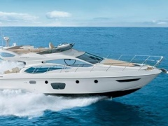 Azimut 47 Fly (2008) CAT C9-575 aus 1 Hand Flybridge Yacht
