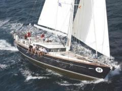 Windboats Oyster 62 UHURU of Lymington Yacht a Vela