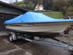 Draco Motorboot Draco 1700 TL ohne Trailer Sportboot