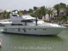 Mochi Craft 56 Fly recent update Flybridge Yacht