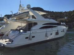 Princess 21 m Flybridge Yacht