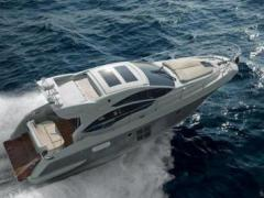 Azimut 40S Cummins QSB 5.9 mit Welle und Joysti Hard Top Yacht