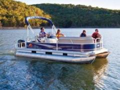 Sun Tracker Party Barge 18 DLX Bateau ponton