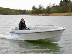 Terhi 450 mit 8PS Motor Fishing Boat