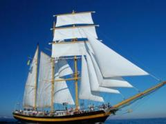Three Mast Barquentine Royal Helena Megayacht