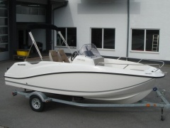 Quicksilver ACTIV 555 OPEN mit Mercury F 100 ELPT Speedboot